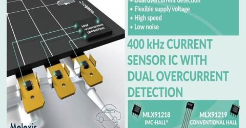 IMC-Hall 400 kHz Current Sensor ICs