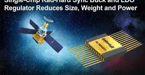 ISL70005SEH Space Grade Single-Chip Synchronous Buck and LDO Regulator