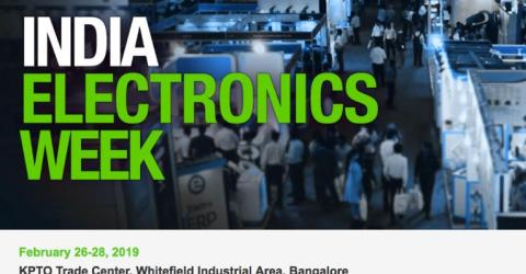 Mouser Electronics Sponsors India Electronics Week 2019
