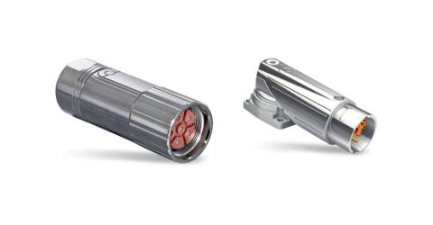 TE Connectivity's Intercontec Connectors Provide Modular Power, Signal, Data Solution