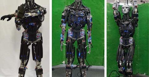 Kengoro a Humanoid Robot