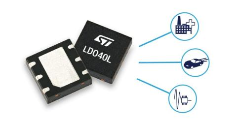 Low-Noise LDO Regulator for Automotive Modules and Smart Automation