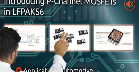 LFPAK56 P-Channel MOSFET