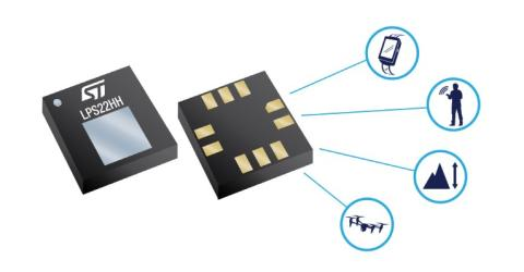 LPS22HH MEMS piezoelectric absolute pressure sensor