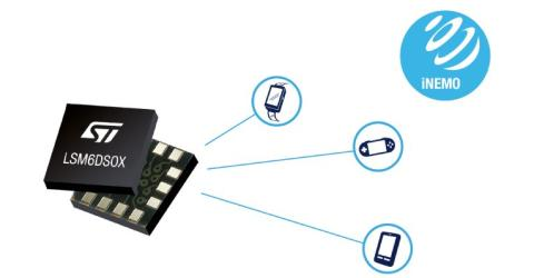 LSM6DSOX Motion Sensor with Machine Learning Core