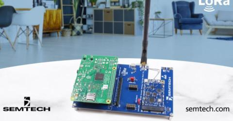 LoRa Gateway Reference Design for Smart Buildings and Homes