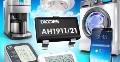Ultra Low-Power AH1911/AH1921 digital Hall effect sensors