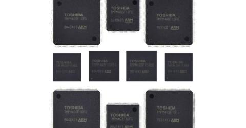 Arm Cortex-M4-based Microcontrollers with built-in timers and communication Channels