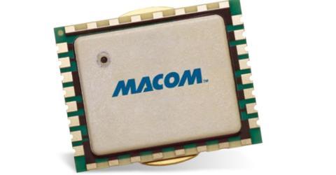 MACOM's 10W GaN-on-Si Power Amp Module Offers Design Flexibility for Tactical Broadband Communications