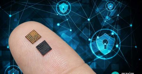 Maxim's New Microcontroller Delivers Advanced Cryptography, Secure Key Storage and Tamper Detection in a 50 Percent Smaller Package