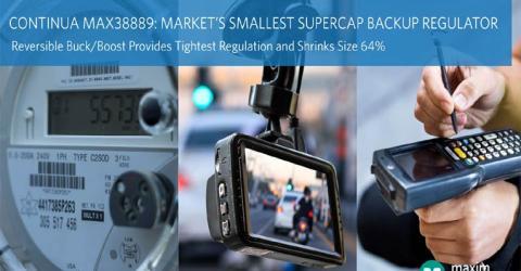 MAX38889 Backup Regulator