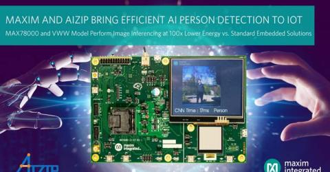 MAX78000 Neural-Network Accelerated Microcontroller