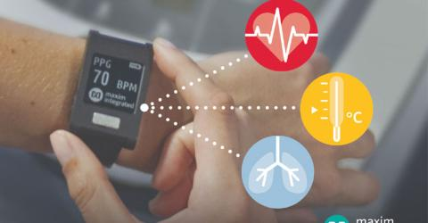Wrist-Worn Platform for Monitoring ECG, Heart Rate and Temperature