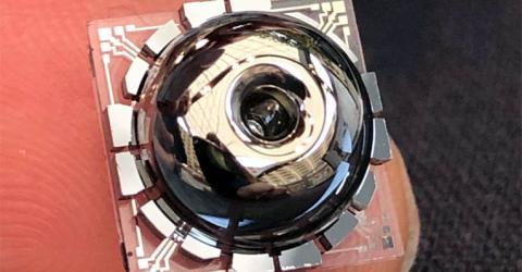 Birdbath Resonating Gyro MEMS Gyroscope