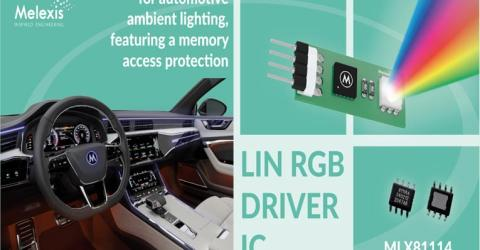 MLX81114 LIN RGB Controller
