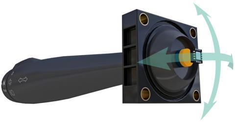 MLX90395 Automotive Grade Monolithic Hall Effect Sensor