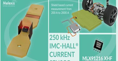 MLX91216 XHF IMC-Hall Current Sensor IC