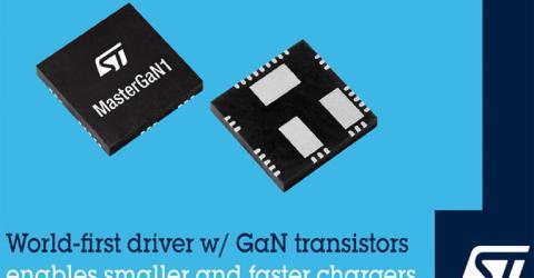 MasterGaN1 Driver with GaN Technology