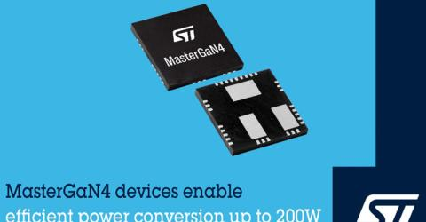MasterGaN4 Power Device from STMicroelectronics