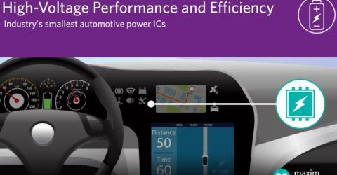 Buck Converters and Controllers to Deliver Efficient High-Voltage Automotive Power Solutions