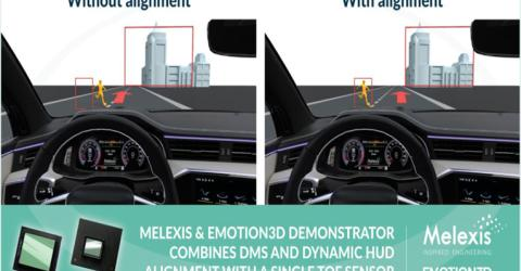 Melexis and emotion3D have joined forces to offer 3D ToF Demonstrator