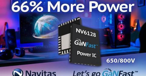 NV6128 GaNFast Power IC