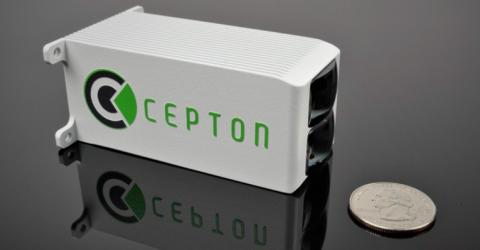 Cepton's Smallest Wide-FOV Miniature Nova Lidar Sensor