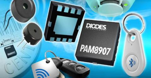 PAM8907 Sounder Driver