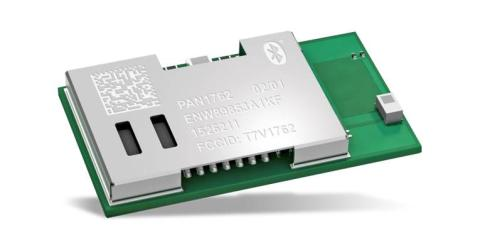 Panasonic's Ultra-Low-Power PAN1762 Bluetooth Low Energy 5 Module