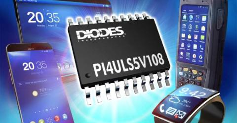 Bidirectional 8-Channel Level Shifter Offers Wide Voltage Range and Flexible Output Options
