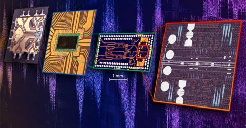 Plasmonic Chips for Ultrafast Data Transmission
