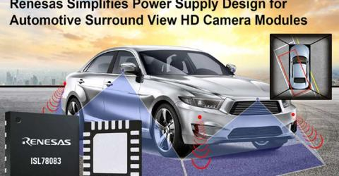 Power Management IC with Simplified Power Supply Design for Automotive Surround view Camera Systems