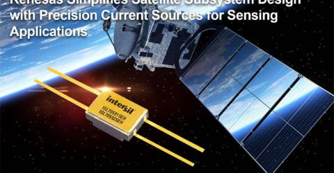 Simplify Satellite Subsystem Design with New Precision Current Sources for Sensing Applications