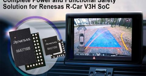 Renesas's R-Car V3H Power Solution
