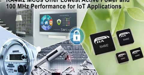 Renesas RA4M2 Group Microcontrollers