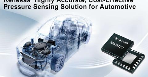 RAA2S425x Pressure Sensing Solutions