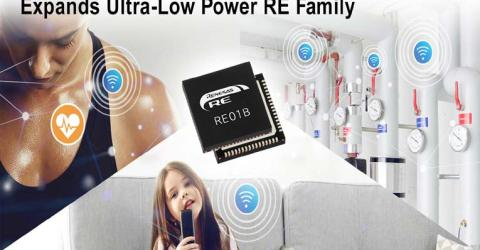 Renesas' RE01B Microcontroller