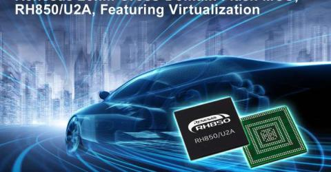 28nm Cross-Domain Flash MCU with Virtualisation for Automotive ECU Integration