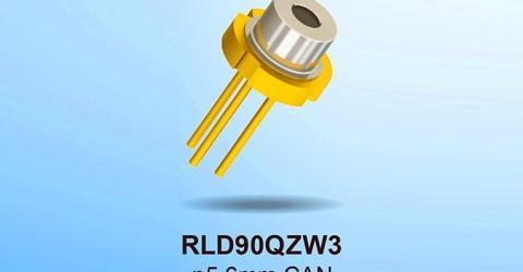 ROHM RLD90QZW3 High Optical Output Laser Diode