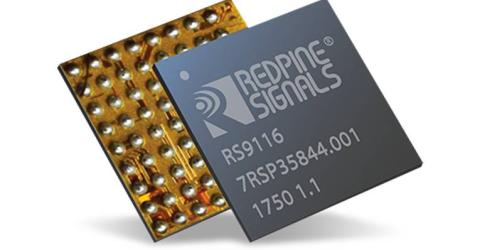 Redpine Signals' RS9116 Modules Support Multi-Protocol Wireless Connectivity for IoT Applications