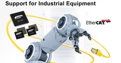 RX72M Microcontrollers with EtherCAT Support for Industrial Applications