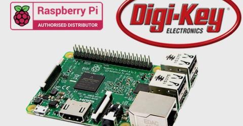 Digi-Key Becomes Official Raspberry Pi Authorized Distributor