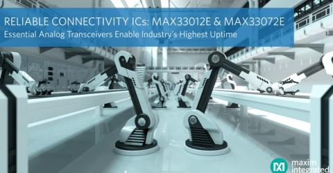 Maxim Integrated's Essential Analog Transceivers
