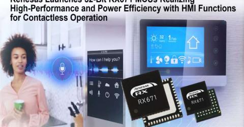 Renesas 32-Bit RX671 MCUs
