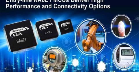 Renesas RA6E1 Microcontrollers
