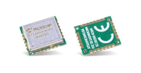 Microchip's SAM R30 Sub-GHz Module for Ultra-Low-Power WPAN Designs