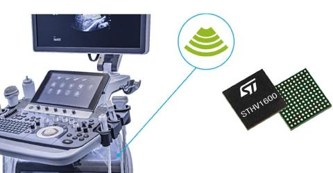 STHV1600 Ultrasound Imaging Pulser by STMicroelectronics