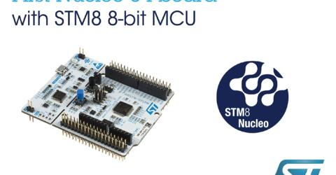 STM8 Nucleo Boards Allow 8-bit Projects to Connect with Open-Source Hardware Resources