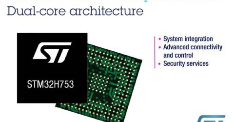 STMicroelectronics STM32H7 Dual core ARM Cortex-M Microcontroller