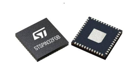 STSPIN32 Single-Shunt BLDC Motor Controller Saves Space, Time, and Bill of Materials